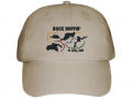 embroidered hat khaki full hat